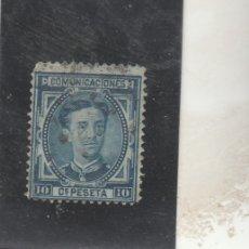 Timbres: ESPAÑA 1876 - EDIFIL NRO. 175 - ALFONSO XII - 10C.- USADO. Lote 150963978