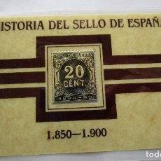 Sellos: HISTORIA DEL SELLO EN ESPAÑA . PLATA. Lote 151004802