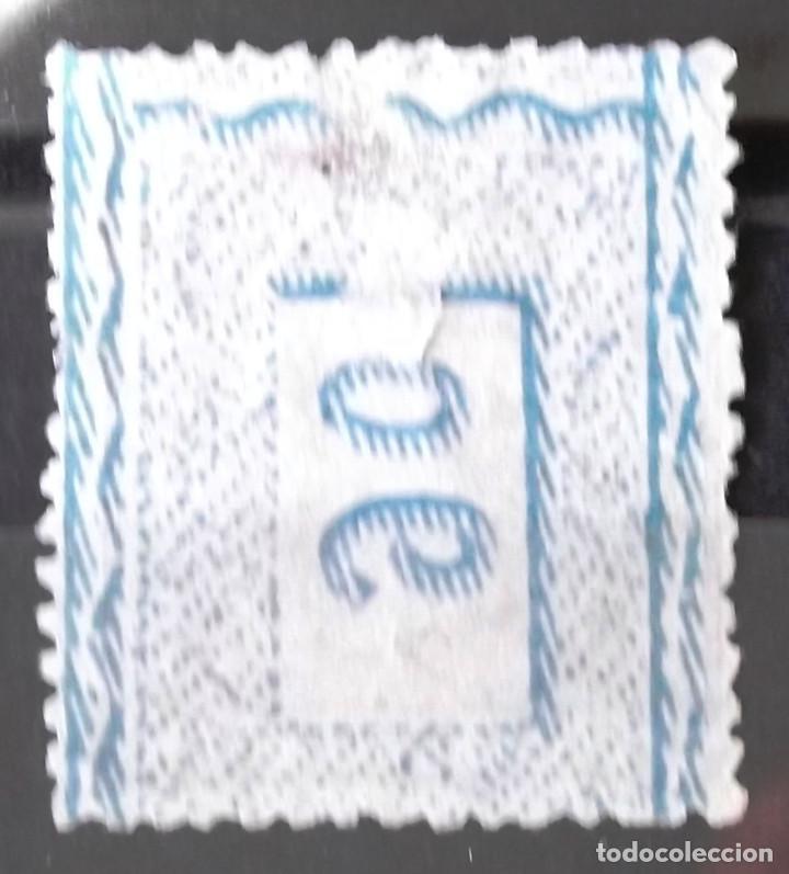 Sellos: Edifil 166, sin matasellar, sin goma; delgadez de papel. Alfonso XII. - Foto 2 - 151519986