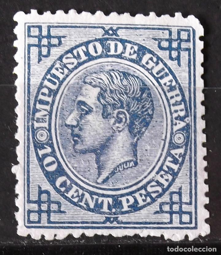 EDIFIL 184, SIN MATASELLAR, SIN GOMA. ALFONSO XII. (Sellos - España - Alfonso XII de 1.875 a 1.885 - Nuevos)
