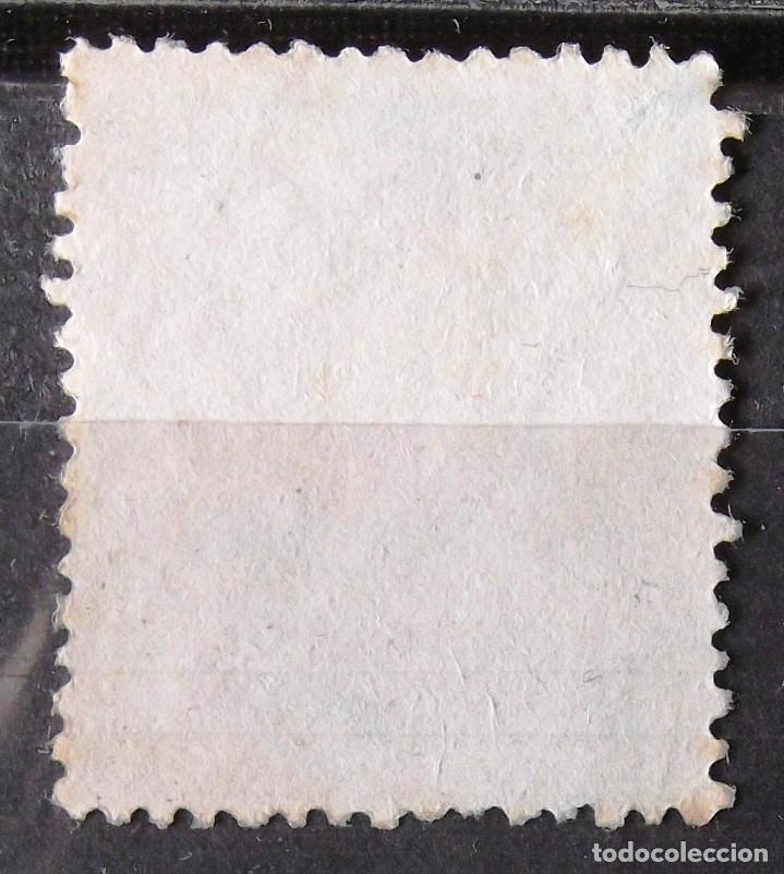 Sellos: Edifil 184, sin matasellar, sin goma; señales tiempo. Alfonso XII. - Foto 2 - 151713450