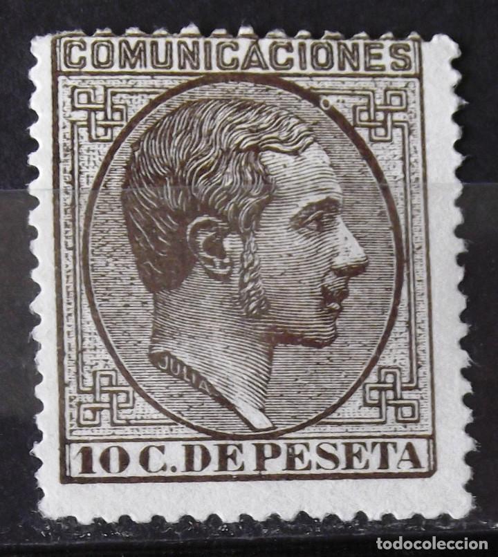 EDIFIL 192, SIN MATASELLAR, SIN GOMA. ALFONSO XII. (Sellos - España - Alfonso XII de 1.875 a 1.885 - Nuevos)