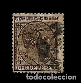 ALFONSO XII - EDIFIL 192 - 1878 (Sellos - España - Alfonso XII de 1.875 a 1.885 - Usados)