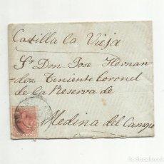 Sellos: CIRCULADA 1887 DE PALMA DE MALLORCA A MEDINA DEL CAMPO VALLADOLID CASTILLA LA VIEJA. Lote 154391470