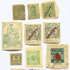 Sellos: M11 LOTE 12 SELLOS/TIMBRES 1876-1941: REINO, REPUBLICA, FRANCO (INC ARANJUEZ Y NAVARRA). Lote 155543982