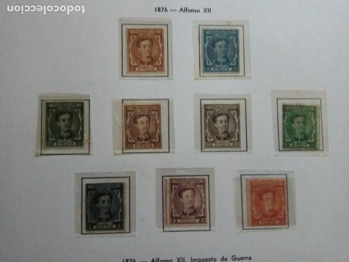 1876-ALFONSO XIII.SERIE COMPLETA.MLH. (Sellos - España - Alfonso XII de 1.875 a 1.885 - Nuevos)
