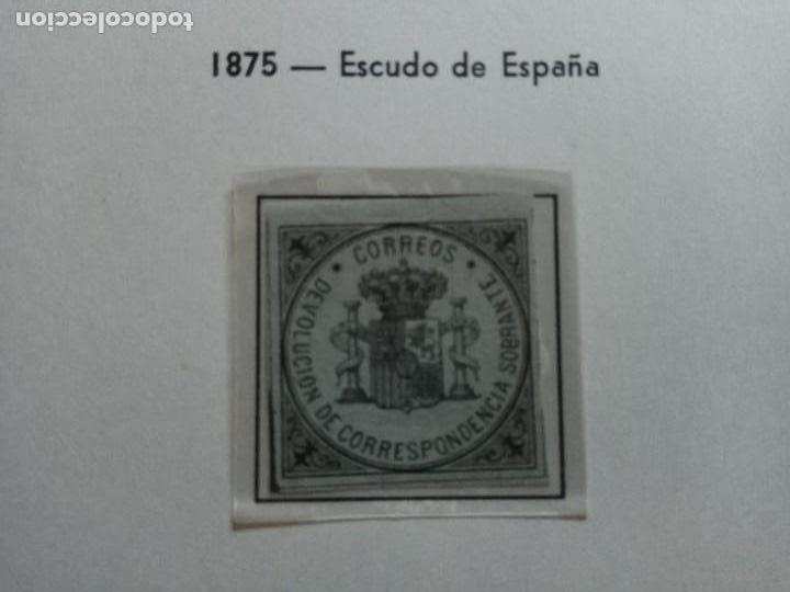 1875-ESCUDO DE ESPAÑA. (Sellos - España - Alfonso XII de 1.875 a 1.885 - Nuevos)