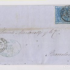 Sellos: CARTA ENTERA. PALMA DE MALLORCA, BALEARES. 1876. Lote 155860810