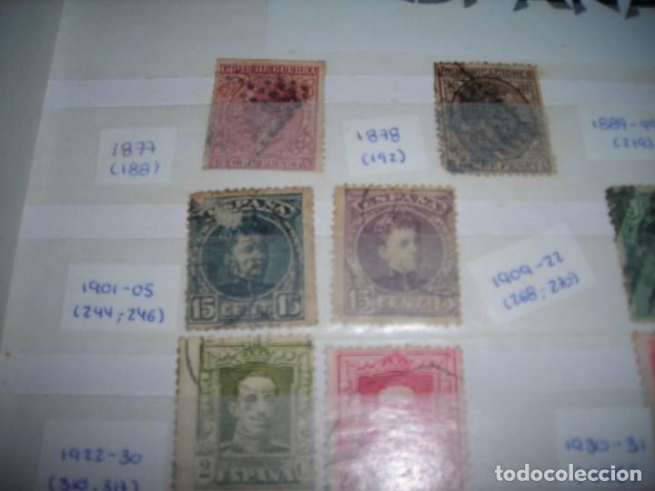 Sellos: 20 SELLOS CIRCULADOS AÑOS ENTRE 1877 Y 1937. Alfonso XII, Alfonso XIII, Republica y Alzamiento. - Foto 5 - 159790442