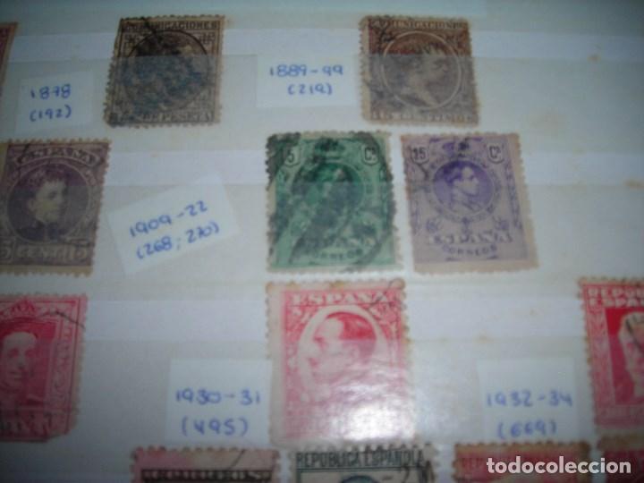 Sellos: 20 SELLOS CIRCULADOS AÑOS ENTRE 1877 Y 1937. Alfonso XII, Alfonso XIII, Republica y Alzamiento. - Foto 6 - 159790442