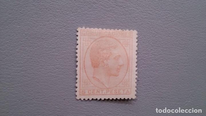 ESPAÑA - 1878 - ALFONSO XII - EDIFIL 191 - MH* - NUEVO - CENTRADO - VALOR CATALOGO 68€. (Sellos - España - Alfonso XII de 1.875 a 1.885 - Nuevos)