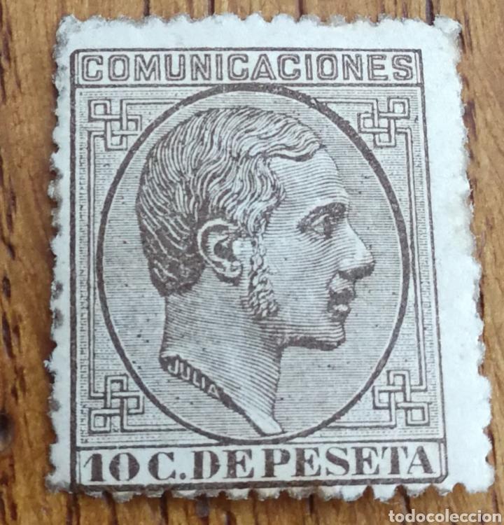 ESPAÑA: N°192 MH.GOMA RENOVADA (Sellos - España - Alfonso XII de 1.875 a 1.885 - Nuevos)