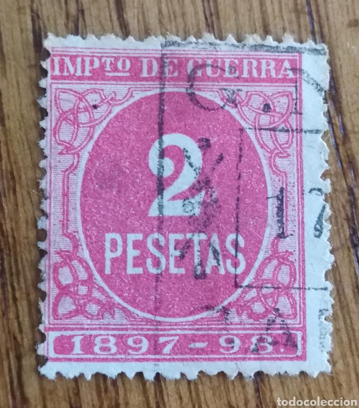 ESPAÑA: FISCAL PARA IMPUESTO DE GUERRA, USADO (Sellos - España - Alfonso XII de 1.875 a 1.885 - Usados)