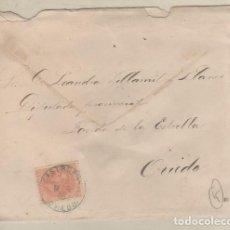 Sellos: CARTA CON MATASELLO CASTROPOL OVIEDO. . Lote 166144422