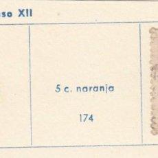Sellos: ESPAÑA. SELLO DE 1878. USADO CON FIJASELLO.. Lote 168115296