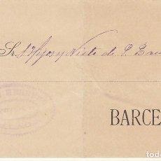 Sellos: SELLO 173A. MALAGA A BARCELONA.1903. - ANTIGUA CASA DEL ABUELO-. Lote 171193852
