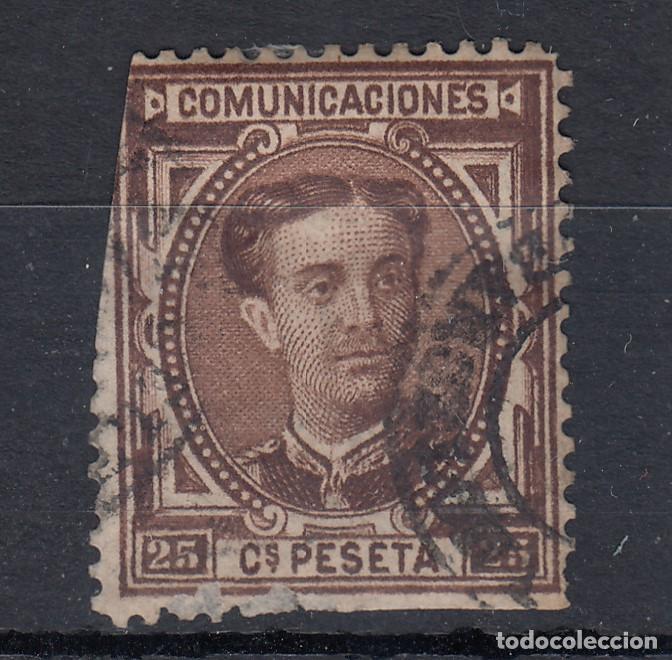 1876 EDIFIL 177 USADO. ALFONSO XII (Sellos - España - Alfonso XII de 1.875 a 1.885 - Usados)