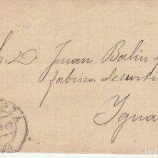 Sellos: SELLO 210. ALFONSO XII. ZARAGOZA A YGUALADA. 1882.. Lote 217546152