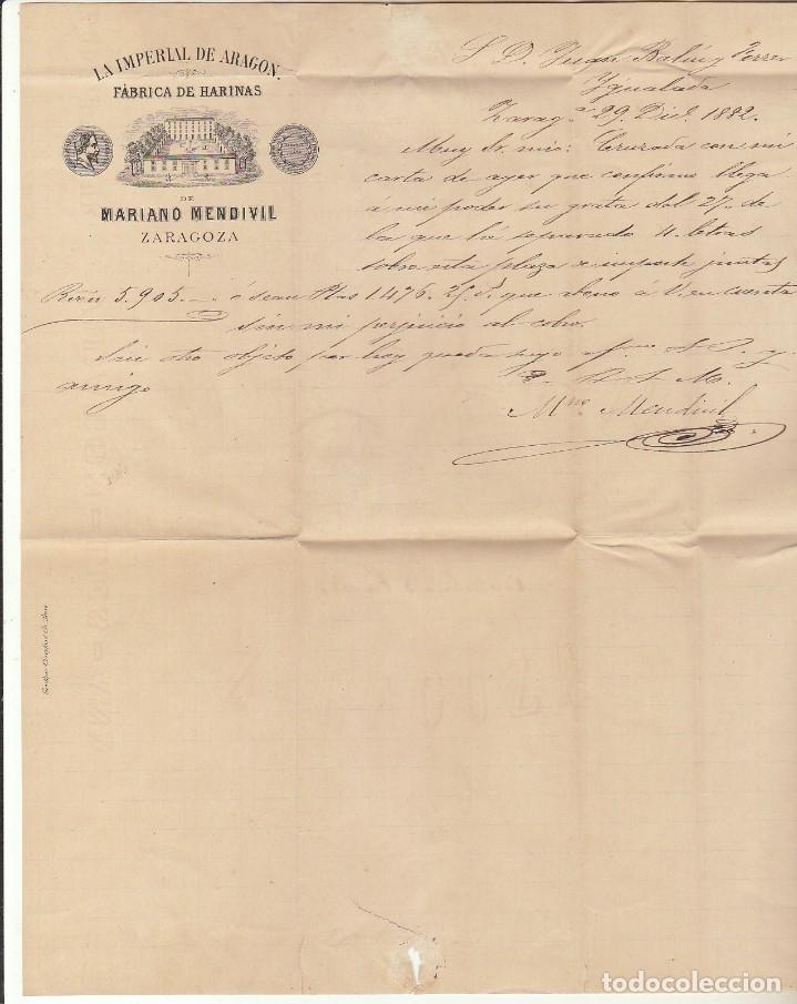 Sellos: Sello 210. ALFONSO XII. ZARAGOZA a YGUALADA. 1882. - Foto 3 - 217546152