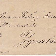 Sellos: SELLO 210 : ALFONSO XII. ZARAGOZA A IGUALADA. 1883.. Lote 172411043
