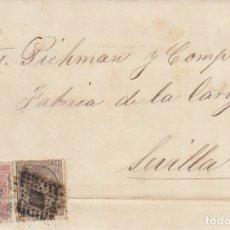 Sellos: SELLOS 188 Y 192. ALFONSO XII. MALAGA A SEVILLA. 1879.. Lote 172850405