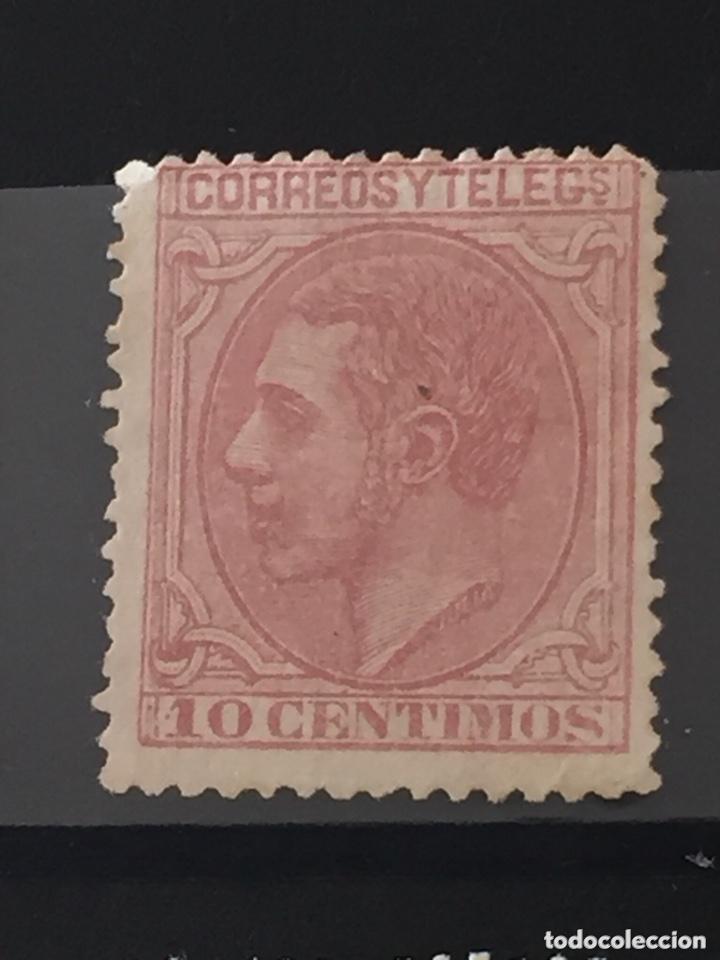Sellos: Lote sellos nuevos edifil 201,202,200,210 Alfonso XII - Foto 4 - 173514680