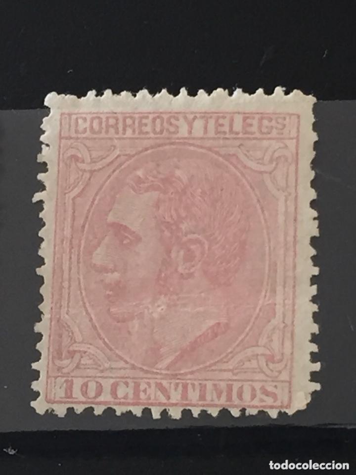 Sellos: Lote sellos nuevos edifil 201,202,200,210 Alfonso XII - Foto 5 - 173514680