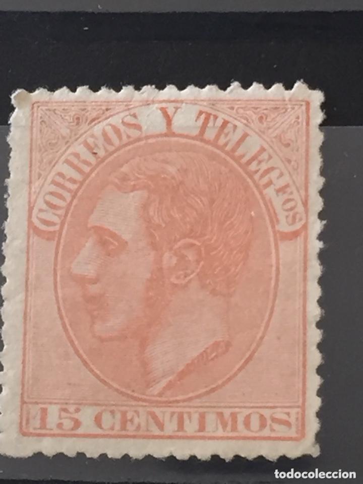 Sellos: Lote sellos nuevos edifil 201,202,200,210 Alfonso XII - Foto 6 - 173514680
