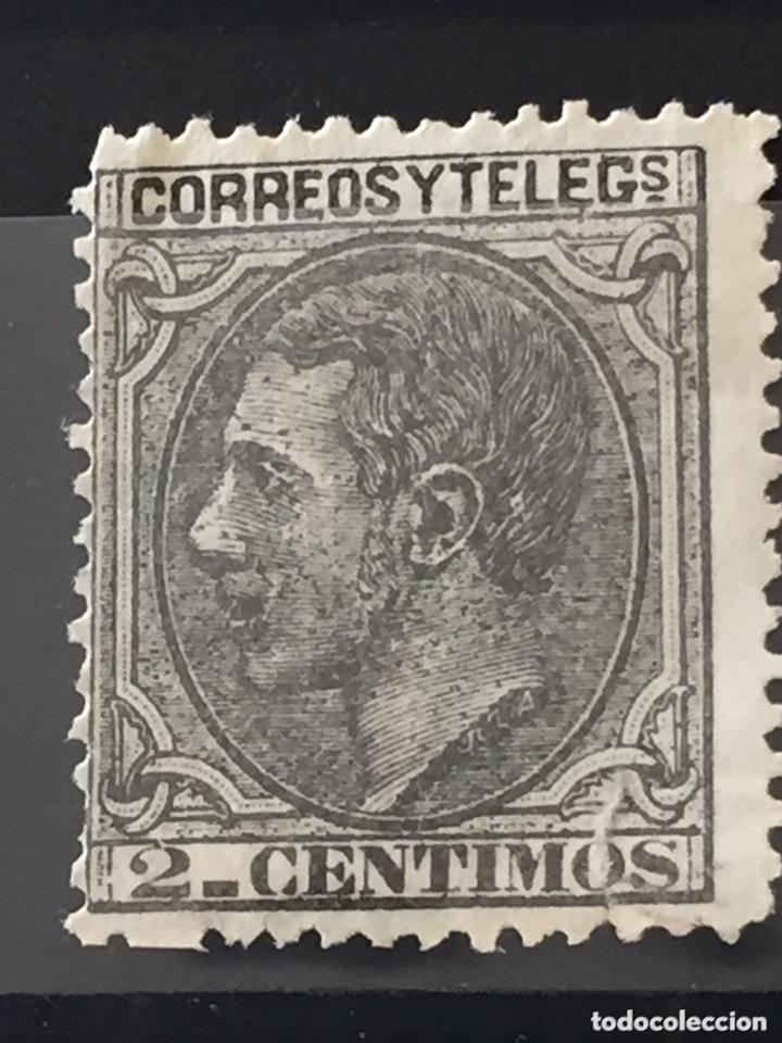 Sellos: Lote sellos nuevos edifil 201,202,200,210 Alfonso XII - Foto 7 - 173514680
