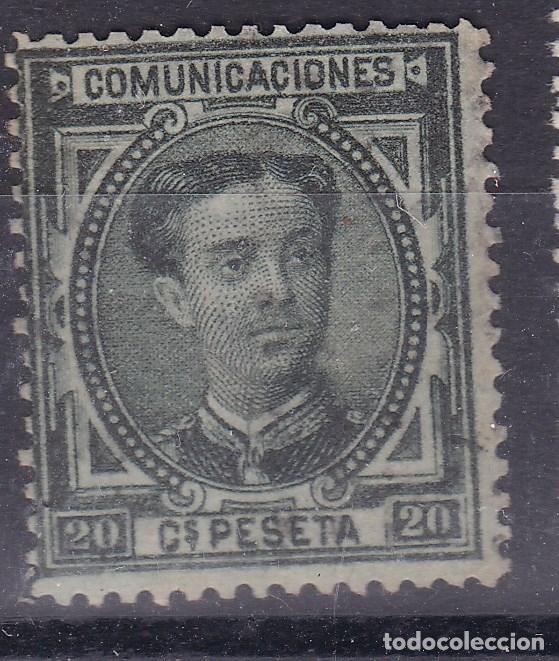 KK10-ALFONSO XII EDIFIL 176 APARENTEMENTE NUEVO (Sellos - España - Alfonso XII de 1.875 a 1.885 - Nuevos)