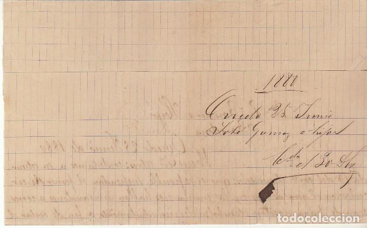 Sellos: Sello 204. OVIEDO a BARCELONA.1880. - Foto 3 - 175342117