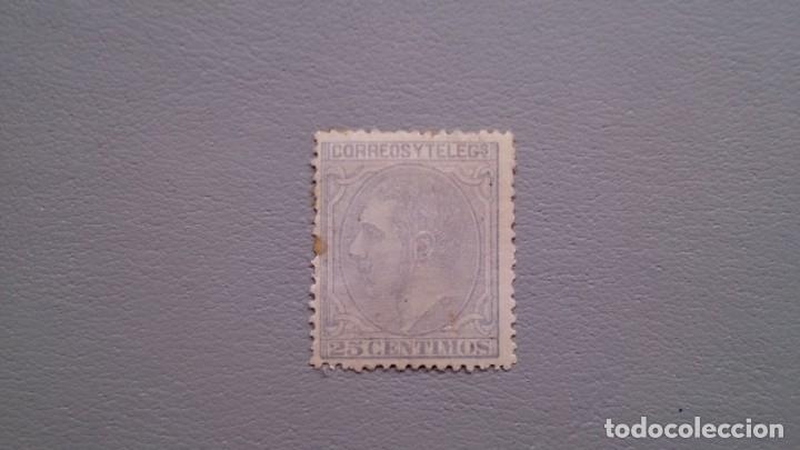 ESPAÑA - 1879 - ALFONSO XII - EDIFIL 204 - MH* - NUEVO - CENTRADO. (Sellos - España - Alfonso XII de 1.875 a 1.885 - Nuevos)
