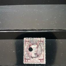 Timbres: EDIFIL 181 T. ALFONSO XII. ESPAÑA 1876. 4 PESETAS. Lote 175885209