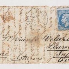 Francobolli: FRONTAL. PARÍS A LLAMES DE PARRES. POR INFIESTO. ASTURIAS.. Lote 176135125