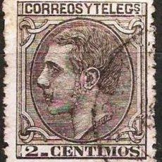 Sellos: EDIFIL 200 USADO 2C. NEGRO GRISACEO ( 5,75 € ). Lote 176250753