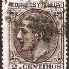 Sellos: EDIFIL 200 USADO 2C. NEGRO GRISACEO ( 5,75 € ). Lote 176466684