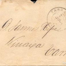 Sellos: AÑO 1879 EDIFIL 204 ALFONSO XII SOBRE MATASELLOS ROMBO TARRAGONA. Lote 176669158