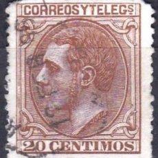 Sellos: EDIFIL Nº 203 USADO 20C. CASTAÑO ROJIZO ( 23,00 € ). Lote 176812284