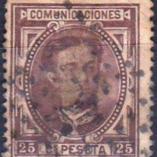 Sellos: EDIFIL Nº 177 USADO 25C.CASTAÑO ( 7,25 € ). Lote 176846430