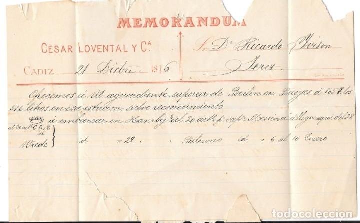 Sellos: ANDALUCIA. EDIFIL 174. SOBRE CIRCULADO EN EL CORREO INTERIOR DE JEREZ DE LA FRONTERA 1876 - Foto 2 - 177707754