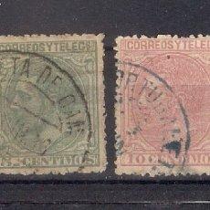 Sellos: ESPAÑA 1879 EDIFIL 200/202 Y 204 - 6/25. Lote 179087393