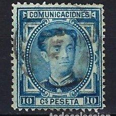 Timbres: ESPAÑA - 1876 - ALFONSO XII - 10 C. DE PESETA. - EDIFIL 175 - USADO. Lote 179345048