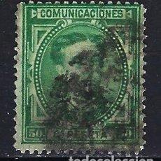 Selos: ESPAÑA - 1876 - ALFONSO XII - 50 C. DE PESETA. - EDIFIL 179 - USADO. Lote 179345506