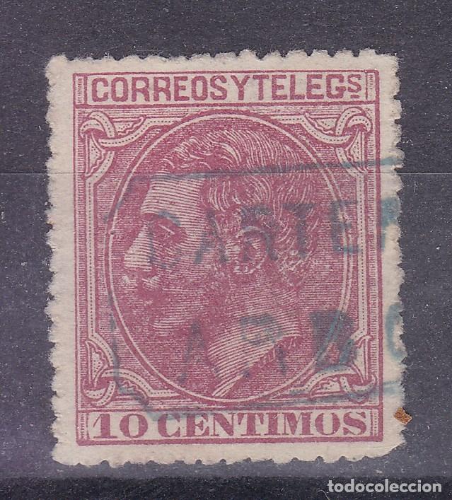 MM3-ALFONSO XII . MATASELLOS CARTERÍA ARBO PONTEVEDRA (Sellos - España - Alfonso XII de 1.875 a 1.885 - Usados)