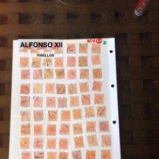Sellos: 2-(1)-(70SELLOS)-2ALFONSO XII(35€). Lote 180236958