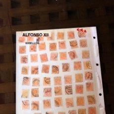 Sellos: ALFONSO XII-2(63SELLOS)(31,5€). Lote 180237820