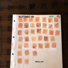 Sellos: ALFONSO XII(38SELLOS)(19€). Lote 180237882