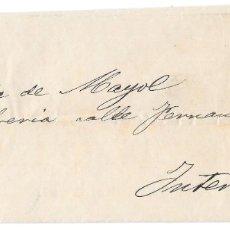 Francobolli: BARCELONA. EDIFIL Nº 174-183. IMPRESO CIRCULADO EN EL CORREO INTERIOR DE BARCELONA 1878. Lote 181074682
