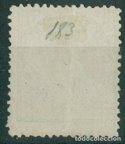 Sellos: EDIFIL 183/187.ALFONSO XII IMPUESTO GUERRA.INCLUYE 5c.FALSO POSTAL GRAUSS Y 5c.ERROR DE COLOR. - Foto 6 - 181944100