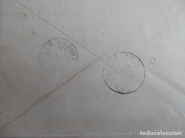 Sellos: SOBRE CARTA AÑO 1885 FRANQUICIA EJÉRCITO FECHADOR DE TREBOL DE LA LAGUNA CANARIAS Y TENERIFE - Foto 2 - 182548725
